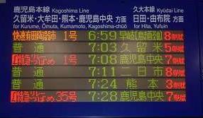 特急 リレーつばめ1号 新八代(鹿児島中央)行き 787系 廃止