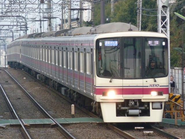 京王電鉄 通勤快速 新宿行き3 8000系