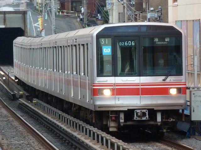 東京メトロ丸ノ内線 池袋行き1 02系幕式