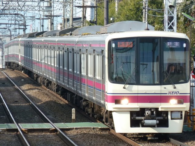 京王電鉄 準特急 新宿行き3 8000系