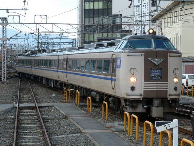 特急 きのさき4号 京都行き 183系
