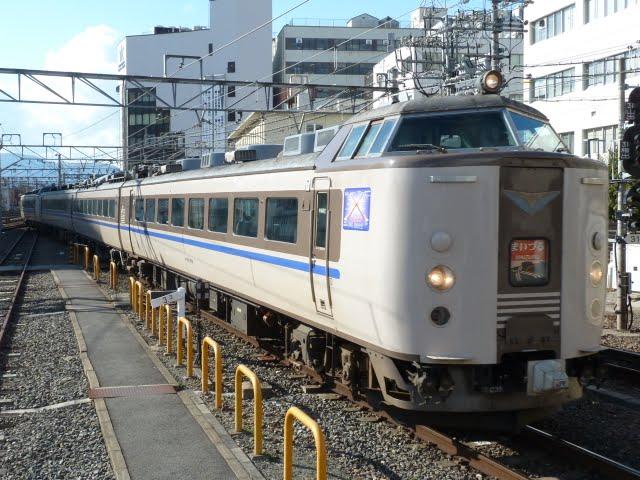 特急 まいづる5号 東舞鶴行き 183系