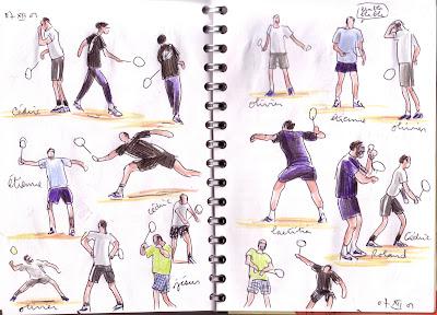club badminton paris