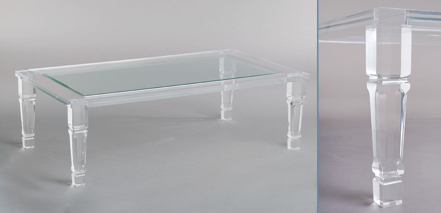 The Nest Quest: Floating on Air - Lucite and Acrylic Furniture