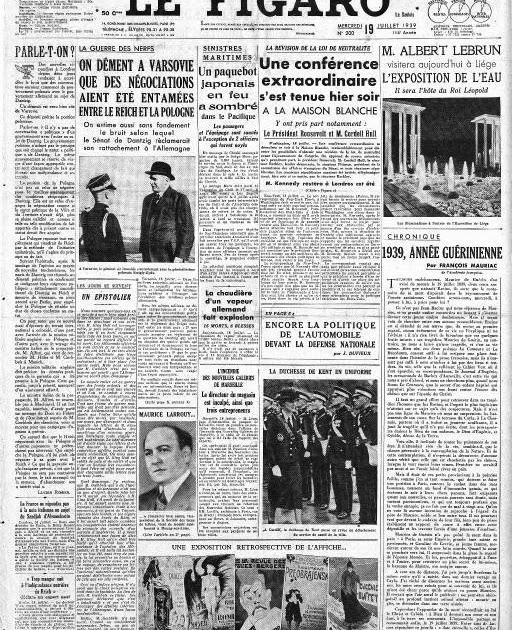 La seconde guerre mondiale au jour le jour mercredi 19 - Piscine a vague etampes ...