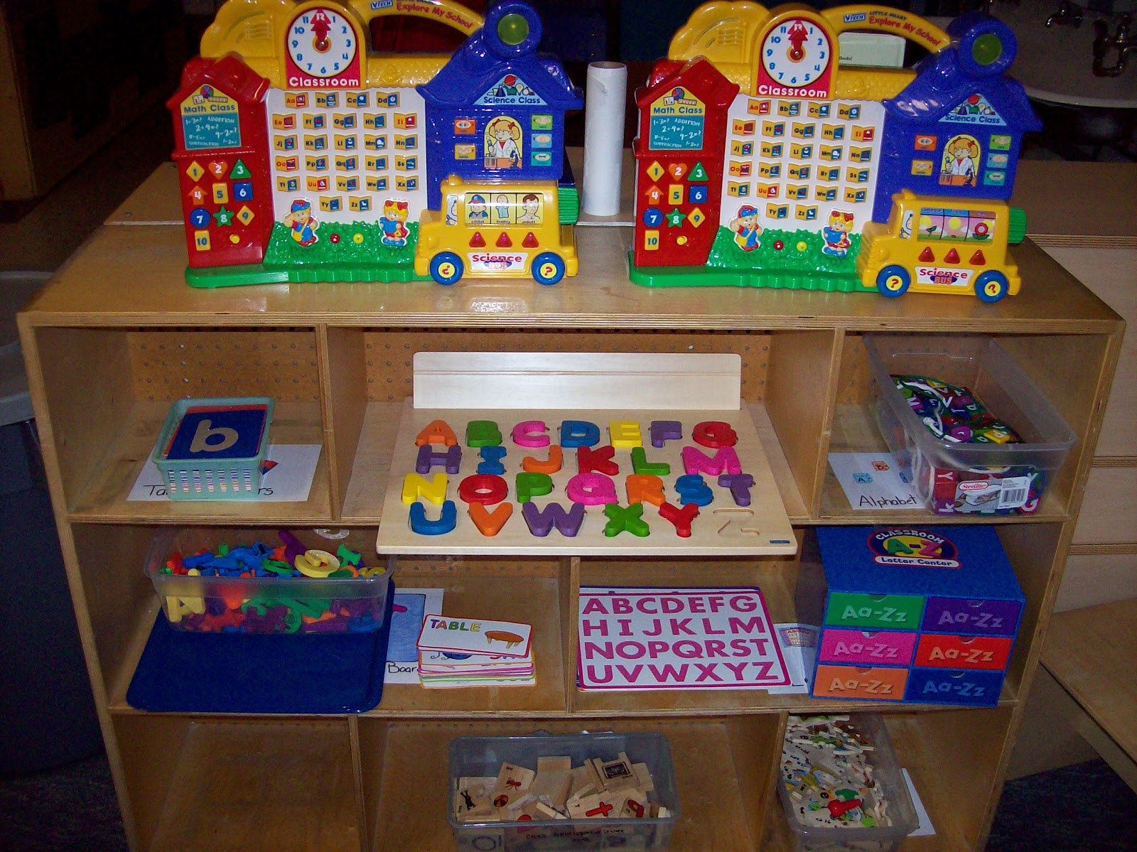 Classroom Structuring Ideas ~ Learning and teaching with preschoolers letter knowledge