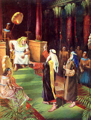 Moises y Faraon