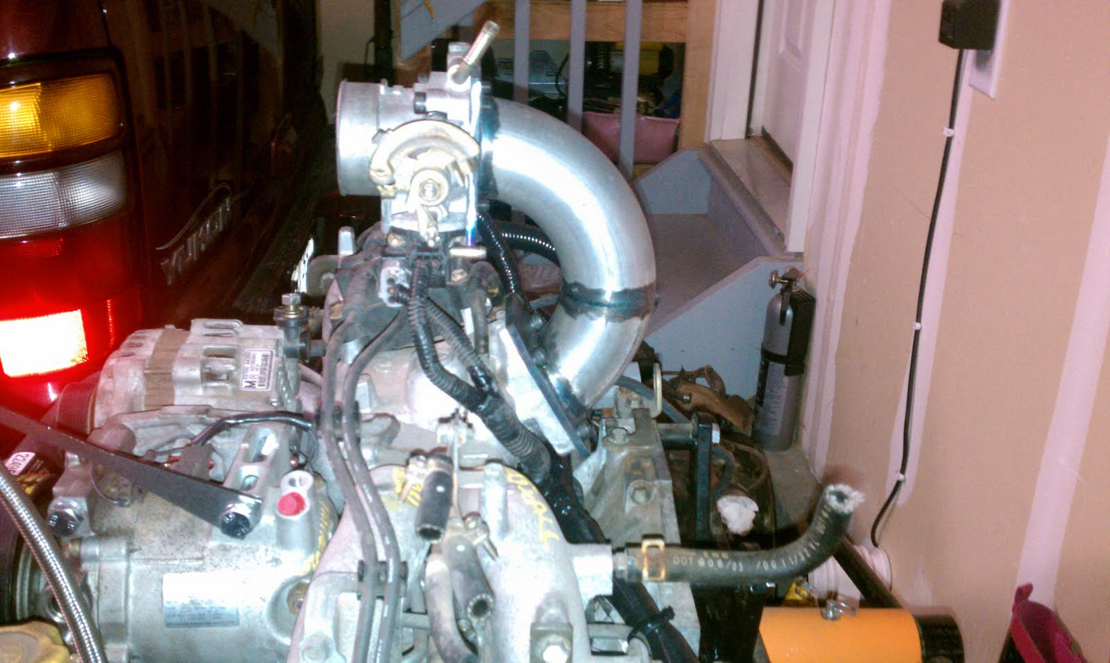 1979 Vw Westfalia Campmobile Deluxe 2010 Throttle Body Wiring Harness Reversing The And Avoid Having To Relocate Alternator A C Compressor With Reverser Everything Stays Stock