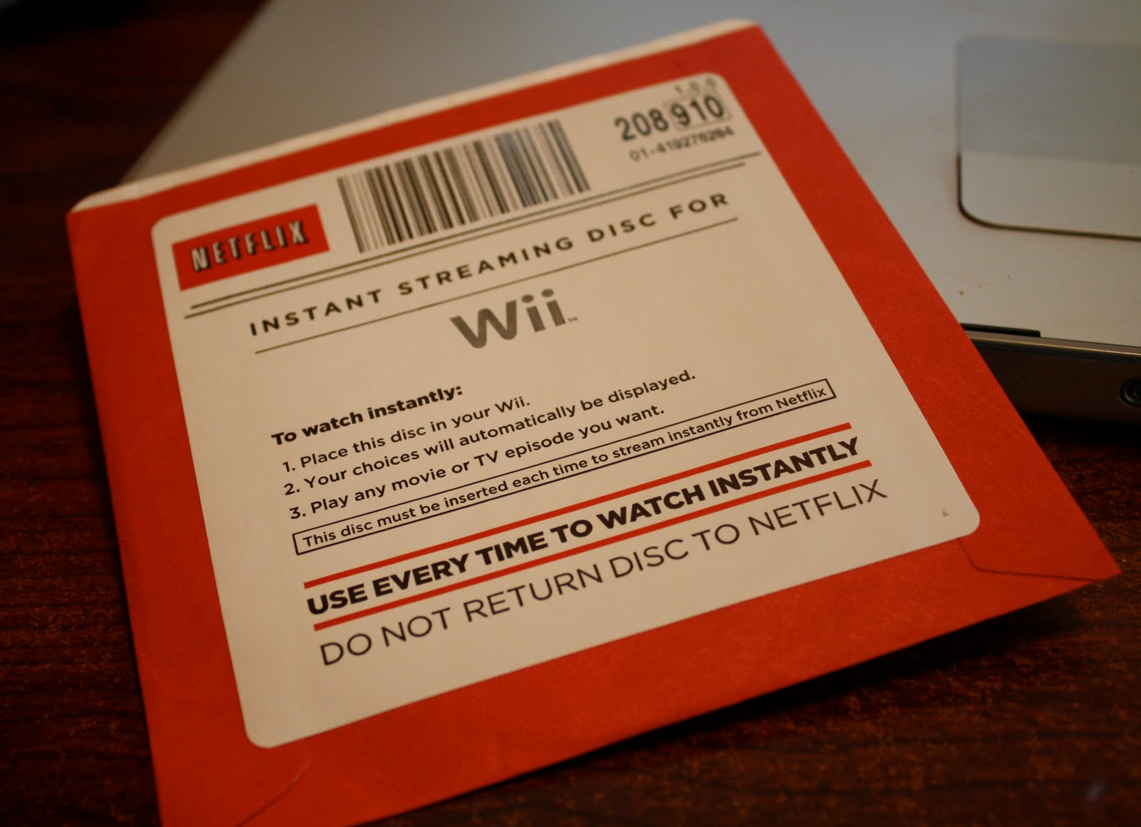 how to put netflix on wii