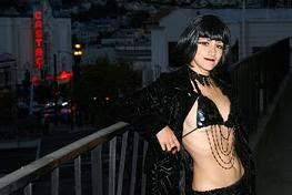 The Original Fag Hag Atop the Castro