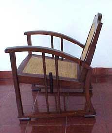Colonial Art Deco Chair