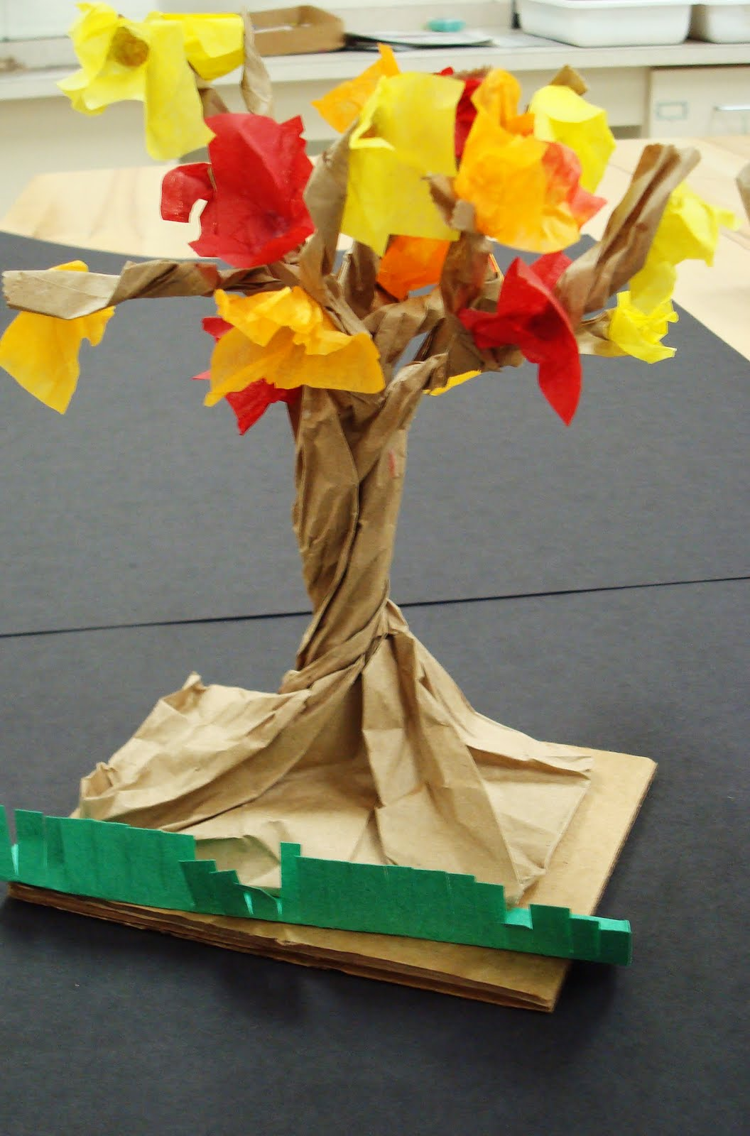 once upon a time fall tree tutorial