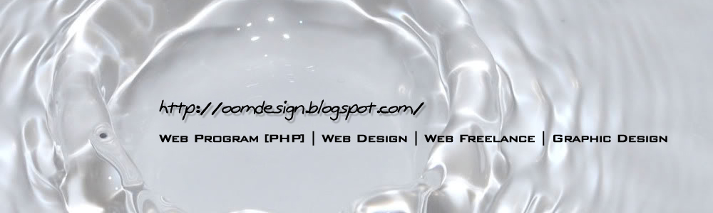 Web Program [PHP] | Web Design | Web Freelance | Graphic Design