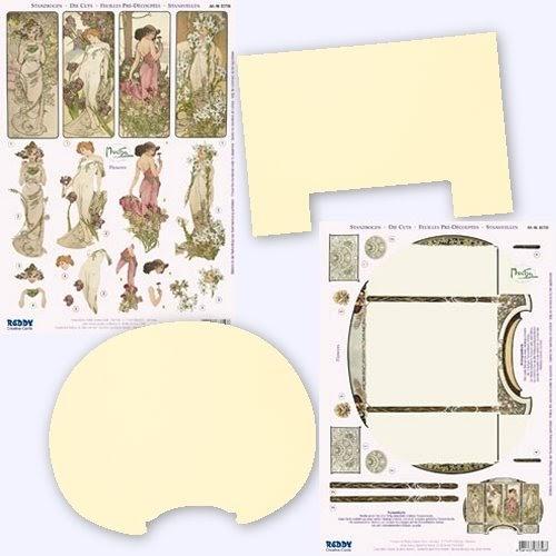 A4 Die Cut Decoupage Sheet Caron Vinson Fairies Various Designs