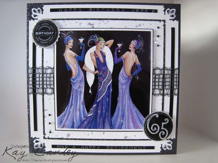 Kays Crafty Corner Art Deco Ladies