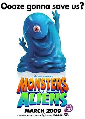 Monsters vs. Aliens,B.O.B,buayafilm