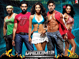 Aishwarya Rai in Dhoom 2 movie