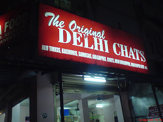 Delhi Chats, an north indian eatery in Thiruvanmiyur Chennai