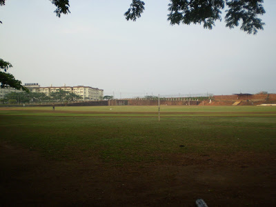 Field in MIT hostel