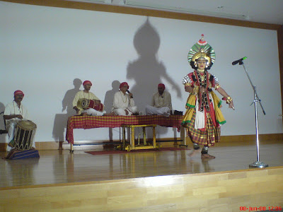 Saligrama Makkala mela performing Yakshagana in Infosys campus mysore