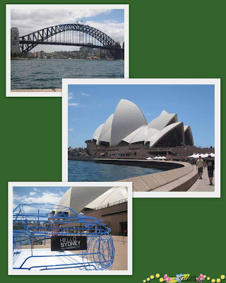Sydney Opera House, Sydney Bridge