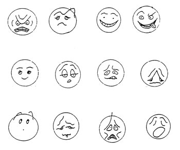Feelings and Emotions Faces