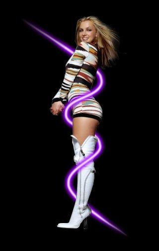 britni spirs glow effect