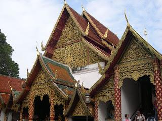 山上著名的廟宇
