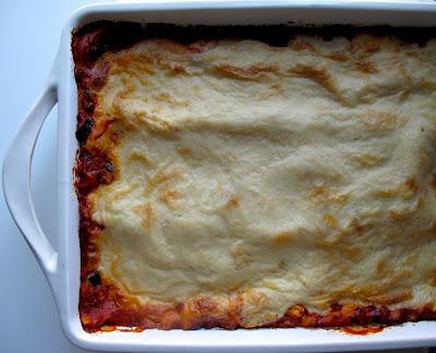Lasagne3:14:10 Eggplant and Zucchini Lasagne