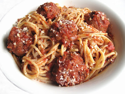 Vegetarian+Spaghetti+with+Meatballs Vegetarian Spaghetti and Meatballs