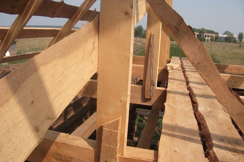 Мансардную ломаную крышу своими руками построить 63
