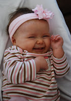 Hailey giggling