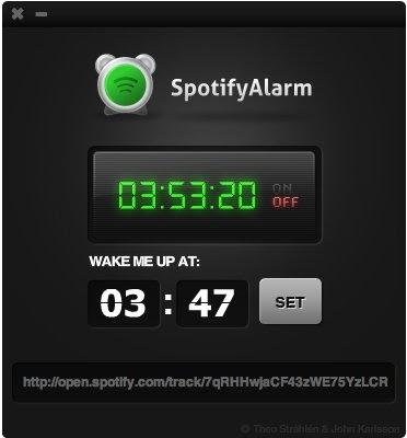 Nina Amjadi: The Spotify Alarm