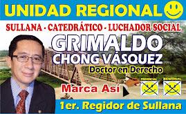 Grimaldo Saturdino Chong Vásquez
