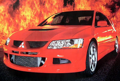 Mitsubishi Lancer Evolution MR Supercar