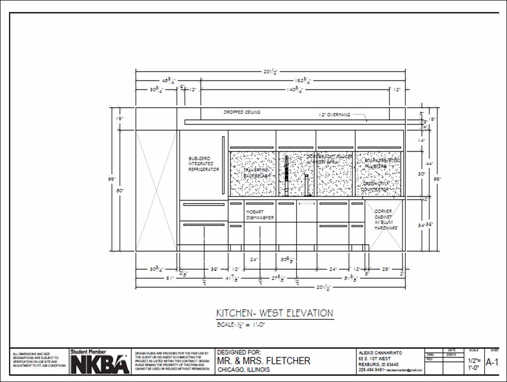 Roman And Williams - Interior Design Title Block Examples