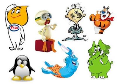 comunica uniabc mascote � porta voz do produto eou empresa