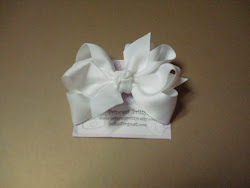 Posh Medium Bowtique Pritty on alligator clip $4.00 / 7.00 set