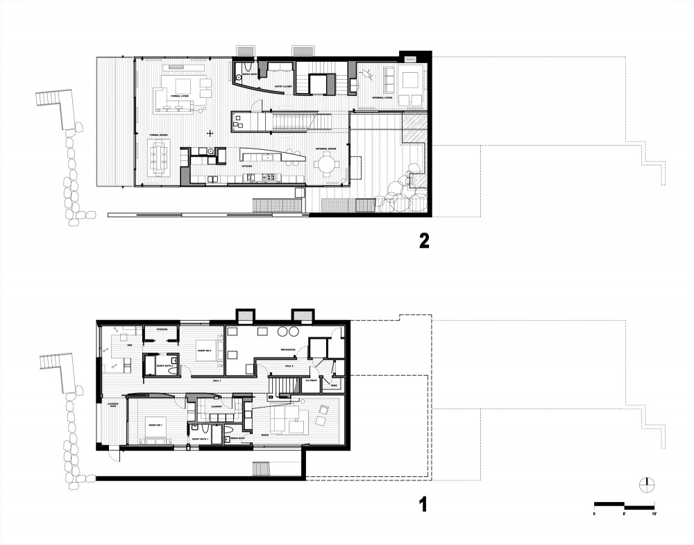 Free Home Plans Enclosed Courtyard House Plans