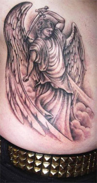 dark angel tattoos