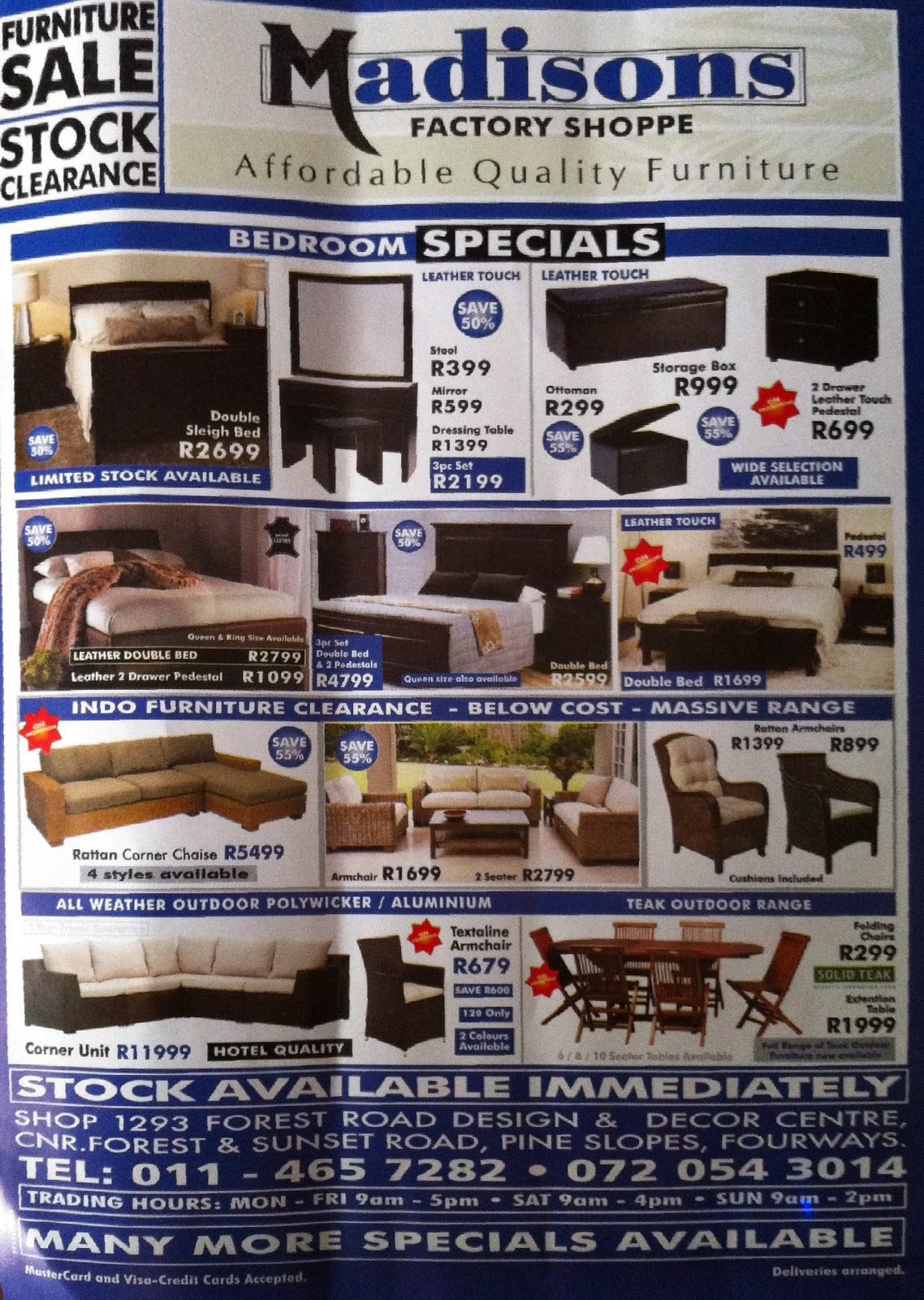 Wonderful Madisons Factory Shop  Affordable Quality Furniture