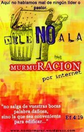 DILE NO A LA MURMURACION