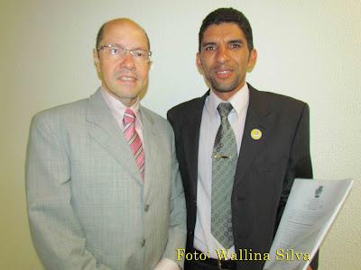 Senador Demóstenes Recebe Pr. Adriano Silva