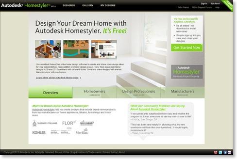 Free online home design software autodesk homestyler Kitchen design software homestyler