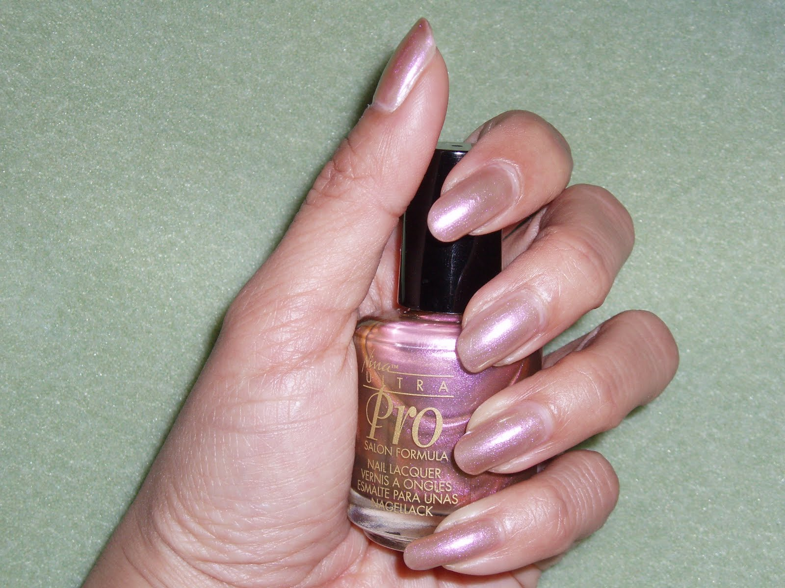 Nina Ultra Pro Nail Polish Ingredients - Creative Touch