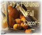 My Fall Decor Award