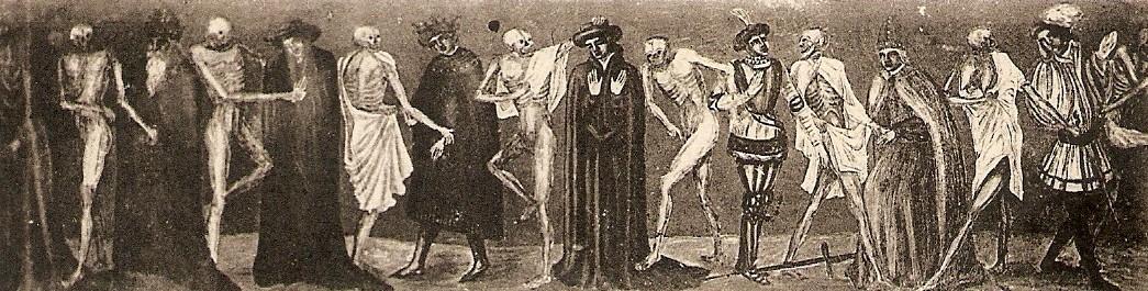 Ronds et branles danse macabre for Chaise dieu danse macabre