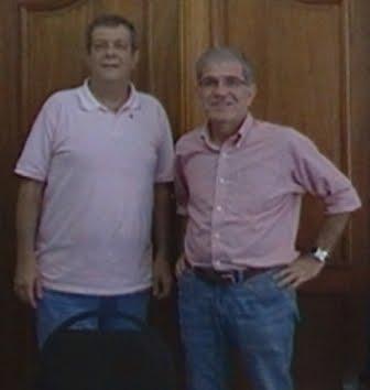 Paulo Morani e Deputado Chico D´Angelo