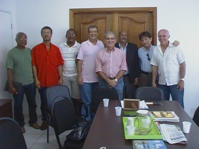 Companheiros da Petroflex que me apoiam, juntos com Dep. Chico D´Angelo