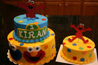 Birthday Cake Kiran Images : And Everything Sweet: Sesame Street First Birthday